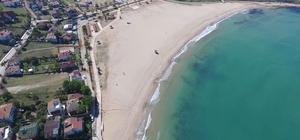 Büyükşehir'in halk plajları tatilciler için yaza hazırlandı