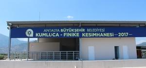 Kumluca-Finike Mezbahasını Belediye işletecek