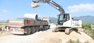 Sancaklıbozköy bin 600 metrelik kanalizasyon hattı