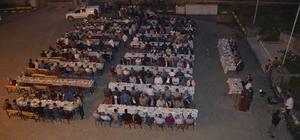 Kato Dağı eteklerinde bin kişilik iftar yemeği