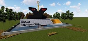 Körfez'e Hocalı  Anıtı yapılıyor