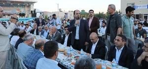 Büyükşehir Bozova'da iftar yemeği verdi