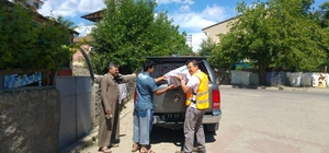 AFAD'dan Suriyeli ailelere yardım