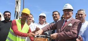 Büyükşehir Belediyesi, Erdemli'de 4 projenin temelini attı