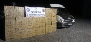 Başkale'de 27 bin paket kaçak sigara ele geçirildi