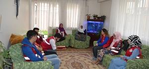 Gençlerden şehit ailesi Ramazan ayı ziyareti