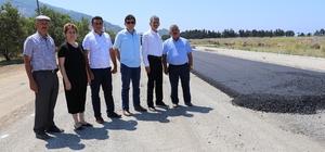 Gazipaşa Koru'da sıcak asfalt sevinci