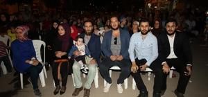 Ramazan etkinliklerinde 'Payitaht Abdülhamit' dizisi oyuncusuna yoğun ilgi