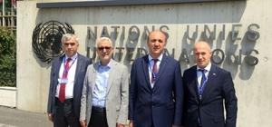 Demirci, ILO Konferansı'na katıldı