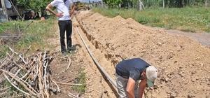 Gölbaşı Belediyesinden alt yapı çalışması