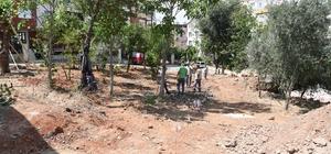 Konyaaltı Belediyesi'nden Pınarbaşı Mahallesine yeni park