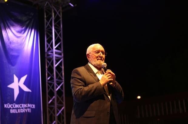 Necmettin Nursaçan Küçükçekmece'de Ramazan Sohbetleri'ne konuk oldu