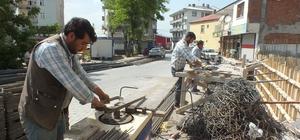 Malazgirt'te inşaat işçilerinin zorlu Ramazan mesaisi