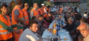Eyüp Belediyesinden 3 bin kişilik iftar