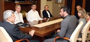 Başkan Karaosmanoğlu Atlı Spor Kulübüyle buluştu