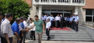 Dörtyol Cumhuriyet Başsavcısı Ünsal ve hakim eşi törenle uğurlandı