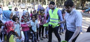 Suriyeli çocuklar moral buldu