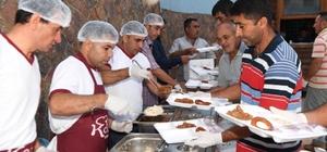 Çukurova Belediyesi Salbaş ve Pozantı'da iftar sofrası kurdu