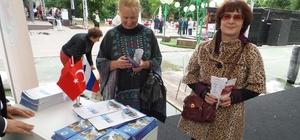Kepez'in güzellikleri Rusya'da tanıtılıyor