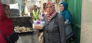 """Kilis'te """"Evde Bakım Hizmetleri ve Belediye Soframızda"""" projeleri devam ediliyor"""
