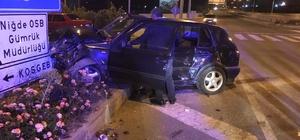 Otomobiller kavşakta çarpıştı: 6 yaralı