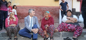 Başkan tahmazoğlu, obezite hastası Açıkgöz'ü ziyaret etti