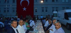 Besni İlçe Jandarma Komutanlığından şehit ve gazi ailelerine iftar yemeği