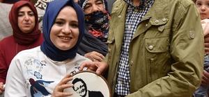 Altındağ'da iki mahalle bir sofrada buluştu