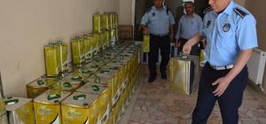 Şanlıurfa'da 2 ton sahte zeytinyağı ele geçirildi