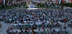 Büyükşehir iftar buluşmasını Karaköprü'de sürdürdü