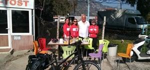 rtaca ilk kadın bisiklet festivaline ev sahipliği yapacak