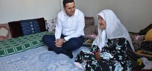 Başkan Vekili Öztürk'ten yaşlı kadına ziyaret