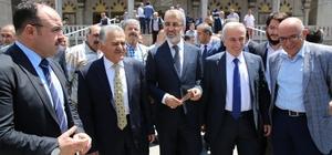 Safa Camii yeniden ibadete açıldı