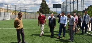 Vali Mehmet Aktaş Arıcak köyünü ziyaret etti