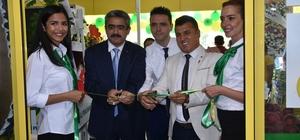 Başkan Alıcık alışveriş merkezi açılışına katıldı