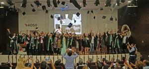 AOSB'de mezuniyet heyecanı