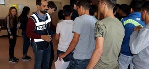 Yozgat'ta LYS heyecanı yaşandı