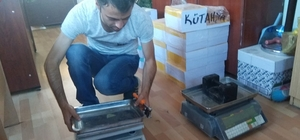 Hisarcık'ta ölçü, tartı aletlerinin damga ve muayene işlemleri