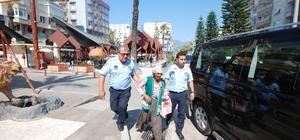 Kumluca'da zabıtadan dilenci operasyonu