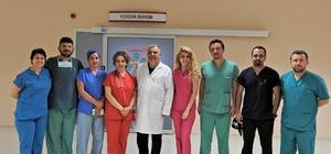 Çeşme Devlet Hastanesi'nden 5 ayda, 3 bin 68 ameliyat
