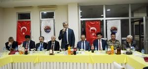 Vali Özefe, İl Genel Meclis üyeleri ve Muhtarlarla iftarda buluştu
