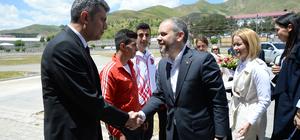Gençlik ve Spor Bakanı Kılıç, Bitlis'te