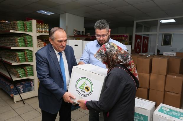 Almanya'dan Bolu'ya ramazan yardımı
