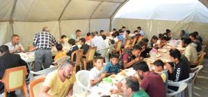 AGD Yahyalı şubesi iftar çadırı açtı