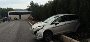 Kemer'de zincirleme trafik kazası