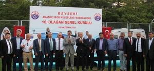 Kayseri ASKF Başkanı yeniden Musa Soykarcı