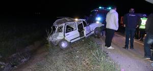 Sivas'ta zincirleme trafik kazası: 1 ölü, 7 yaralı