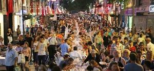 Mustafa Kemal'de 2 bin kişilik iftar sofrası
