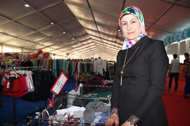 Sancaktepe'de büyük indirim çadırı açıldı