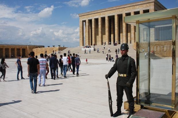 Beytüşşebaplı öğrenciler Ankara'yı gezdi